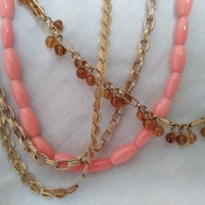 Talbot's multi chain necklace
